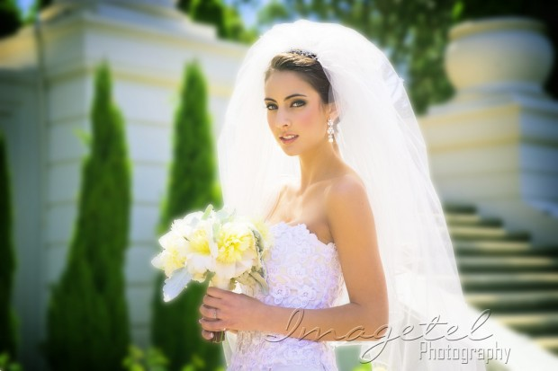 Bridal Couture by Monique Zhang ~ Jewelry by Starlite Jewelry Designs